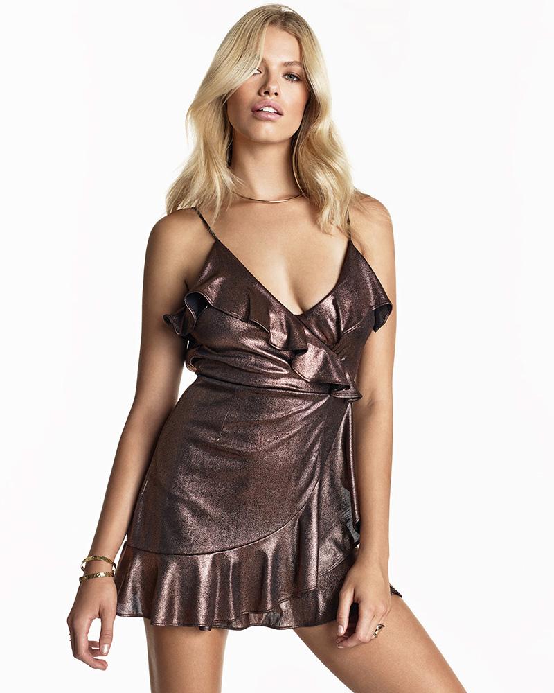 NBD SU2C x REVOLVE Dancin Queen Mini Dress