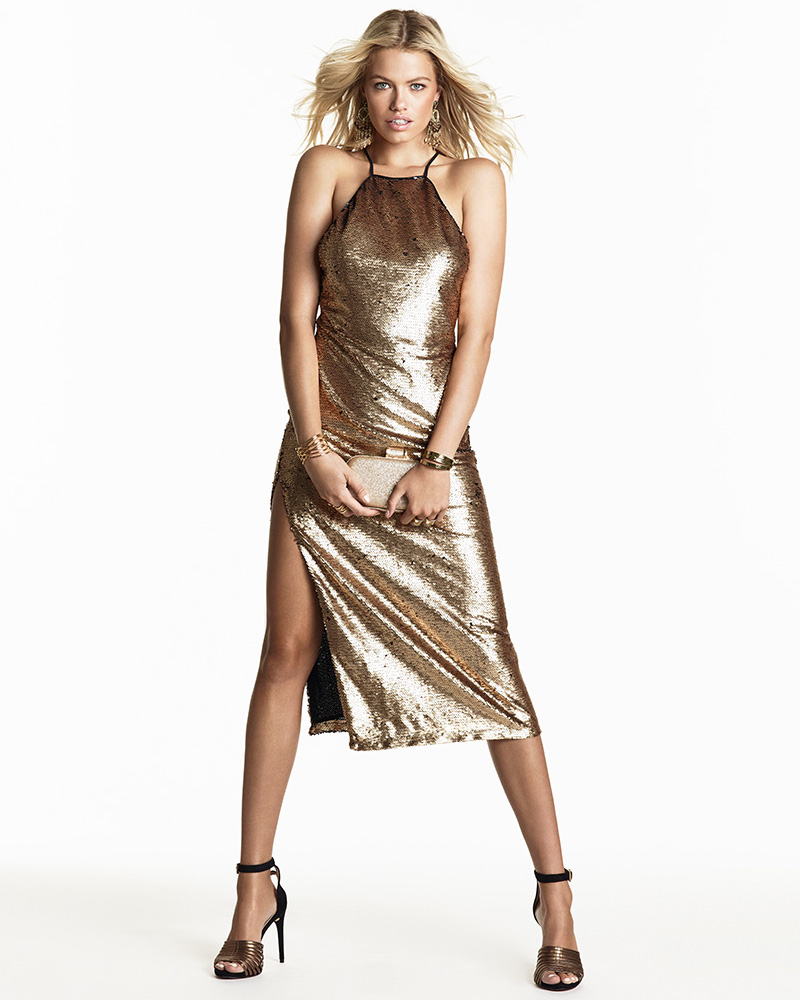 NBD SU2C x REVOLVE Glamour Maxi Dress