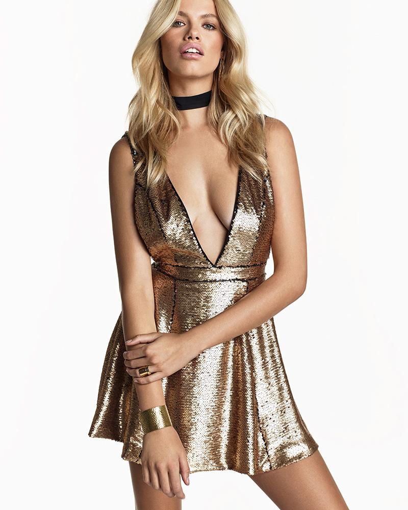 NBD SU2C x REVOLVE Glamour Mini Dress