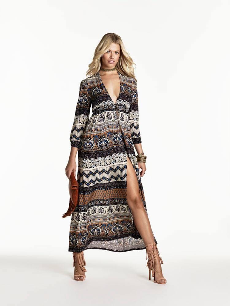 NOVELLA ROYALE SU2C x REVOLVE Midnight Alley Maxi Dress