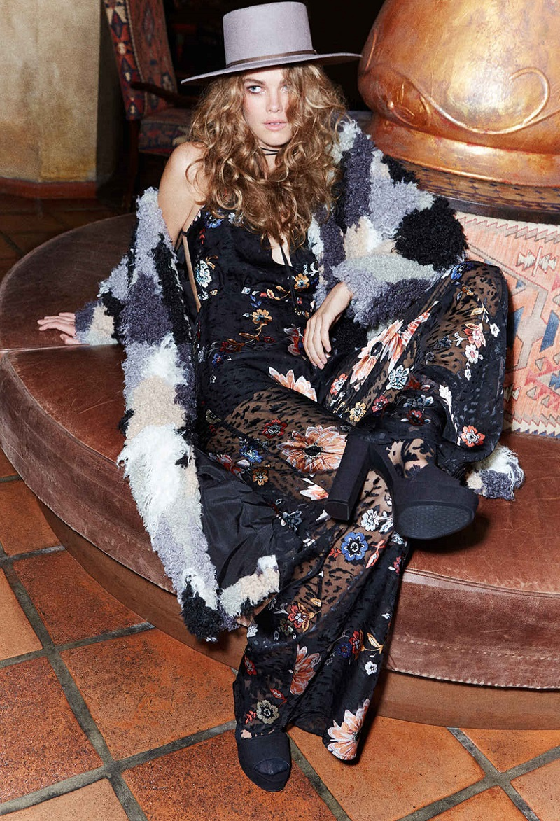 Nasty Gal Band of Gypsys Floral Jumpsuit