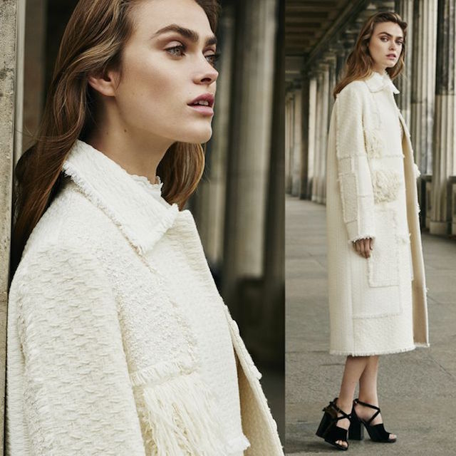 Nina Ricci Embellished Wool Coat