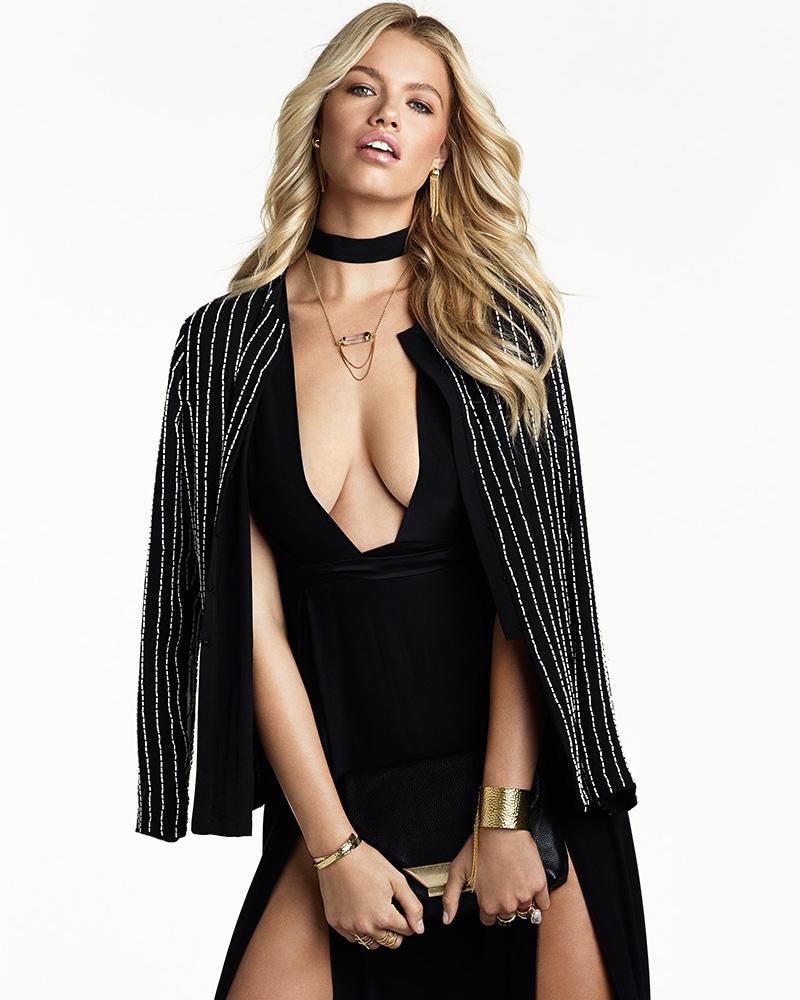 OLCAY GULSEN SU2C x REVOLVE Double Slit Maxi Dress