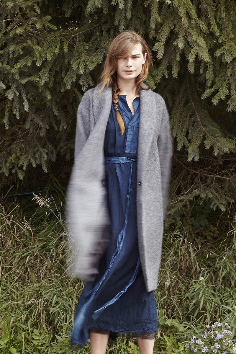 Pas de Calais Belted Long Dress