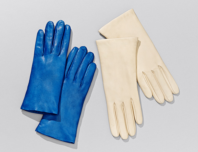Portolano Leather Gloves at MYHABIT