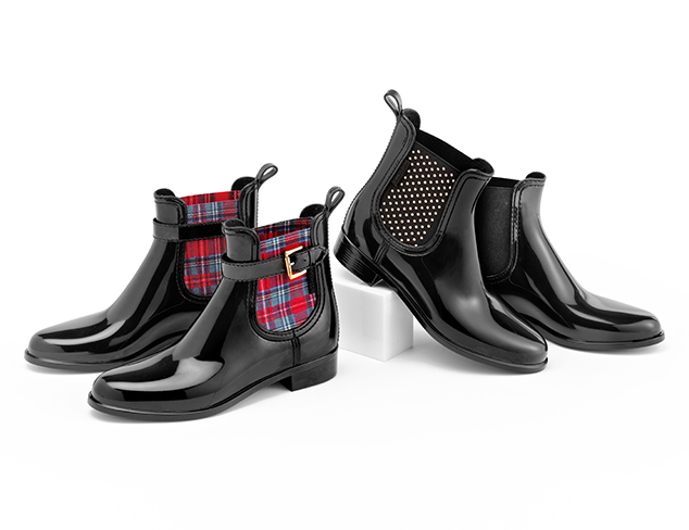 Rain Ready Boots & Shoes at MYHABIT