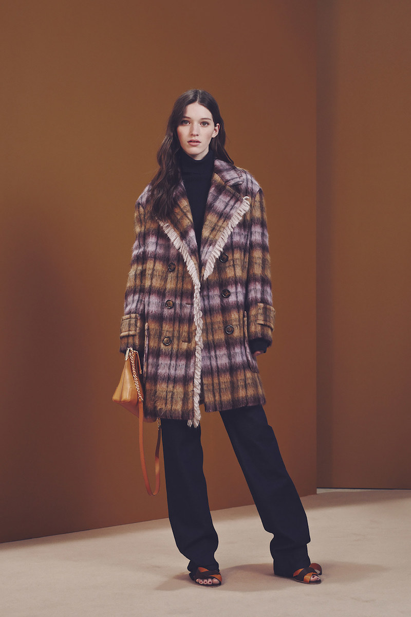See By Chloé Orchide Coat