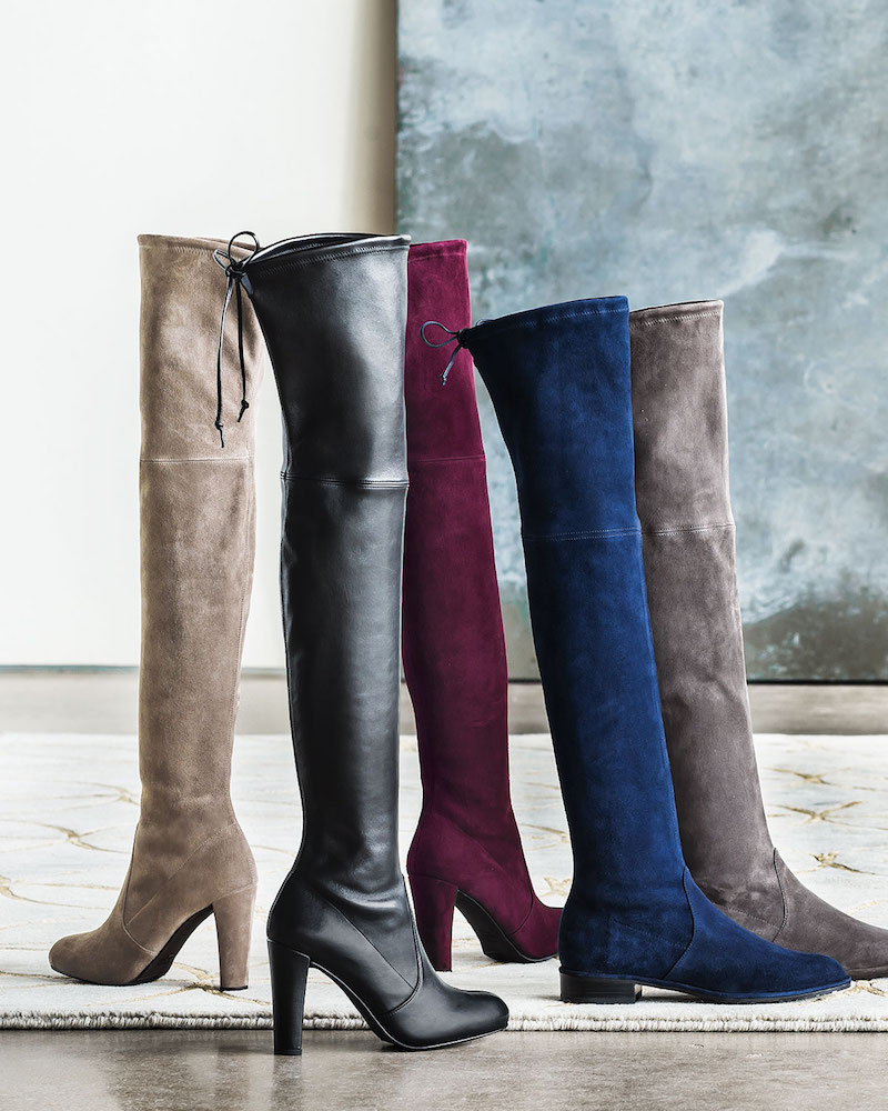 Stuart Weitzman Build Your Own Highland or Lowland Boot