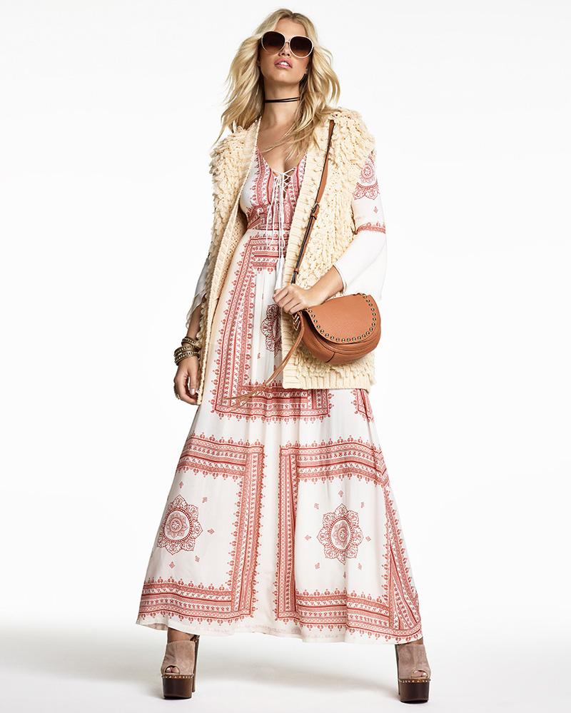 THE JETSET DIARIES SU2C x REVOLVE Santorini Dress