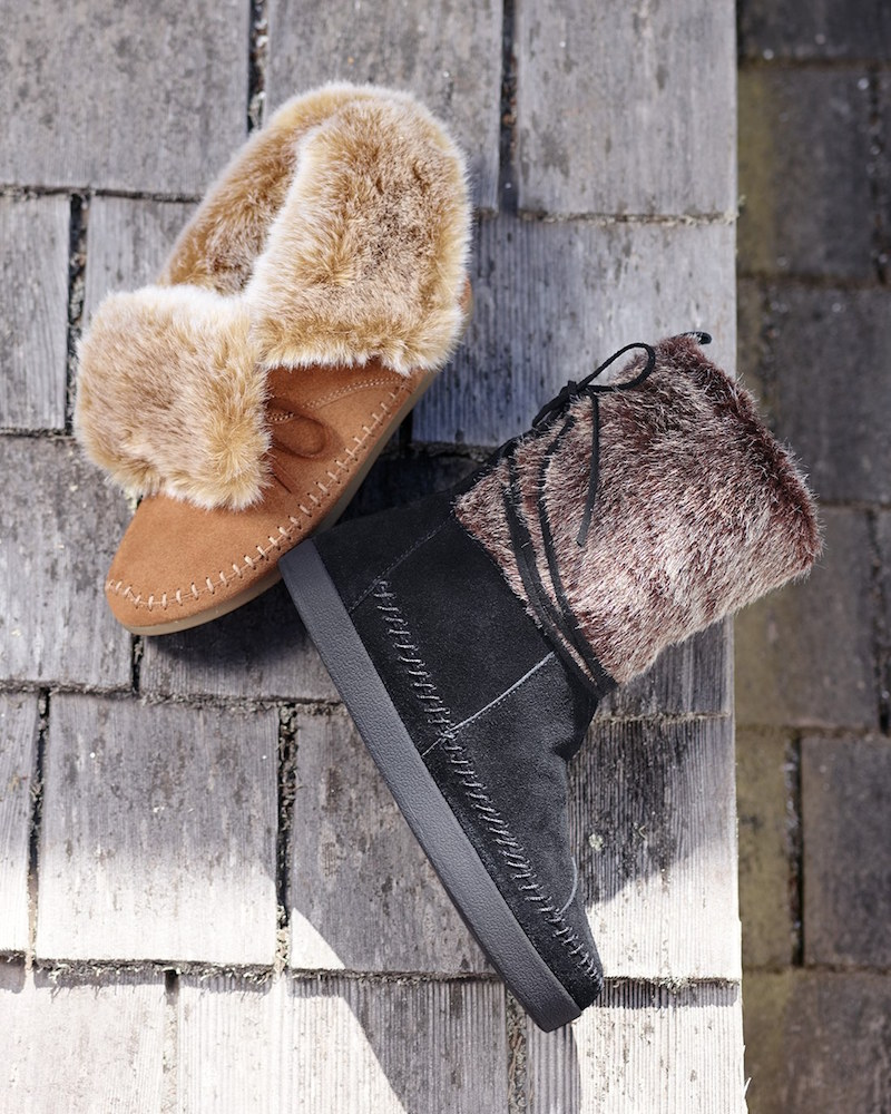 TOMS Nepal Faux Fur Boot