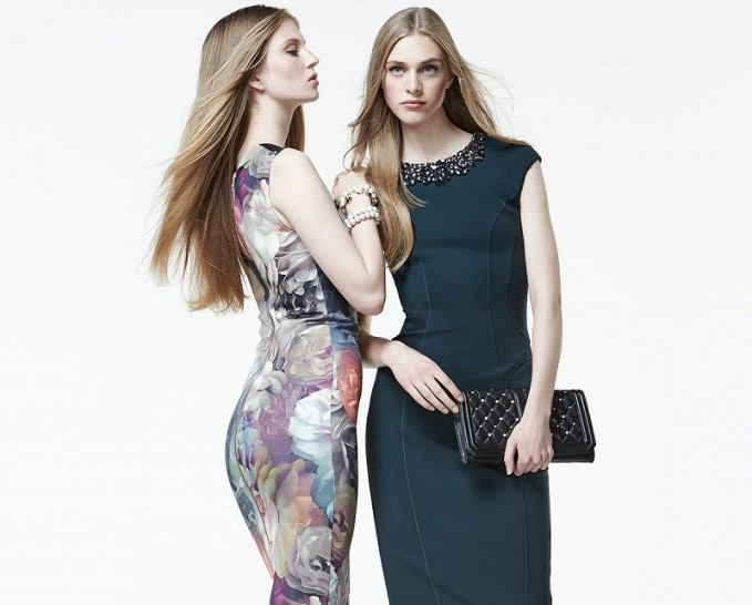 Ted Baker London Mayzi Technicolor Bloom Sheath Dress