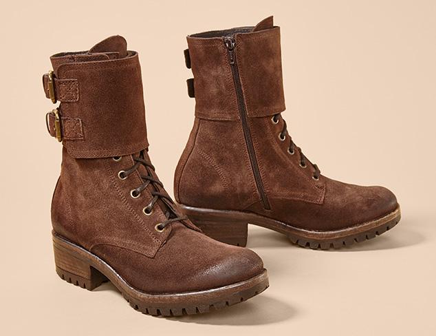The Explorer Combat Boots & More at MYHABIT