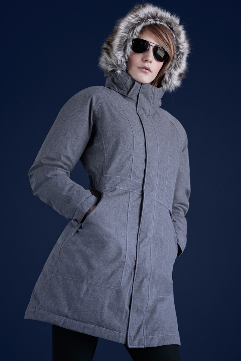 The North Face Arctic Parka with Removable Faux Fur Trim Hood