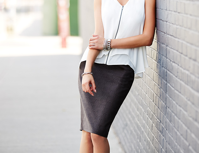 Wardrobe Essentials The Skirt at MYHABIT