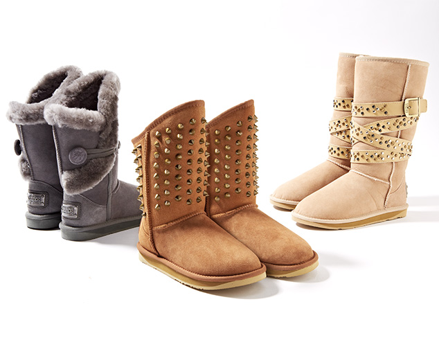 Warm & Stylish Cold Weather Boots at MYHABIT