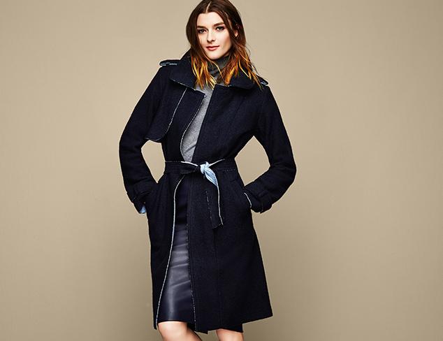 Warm Up Wool Coats at MYHABIT