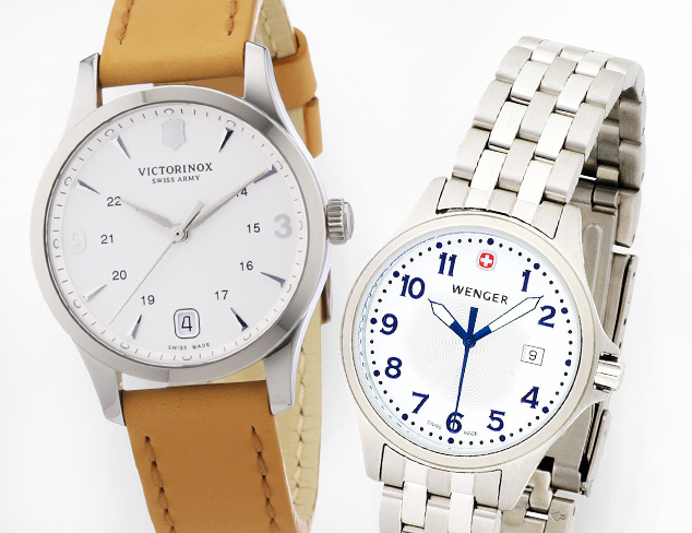 Watches feat. Victorinox & Wenger at MYHABIT