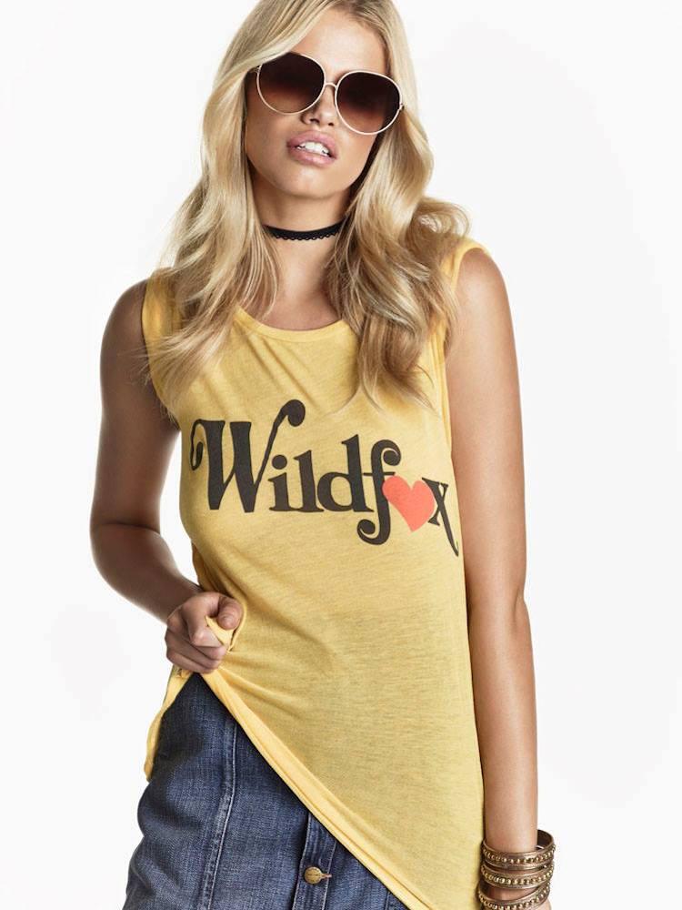 Wildfox Couture SU2C X REVOLVE Foxy Love Traveler Crew