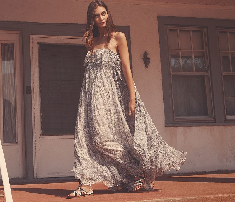 Zimmermann Empire Mist Dress