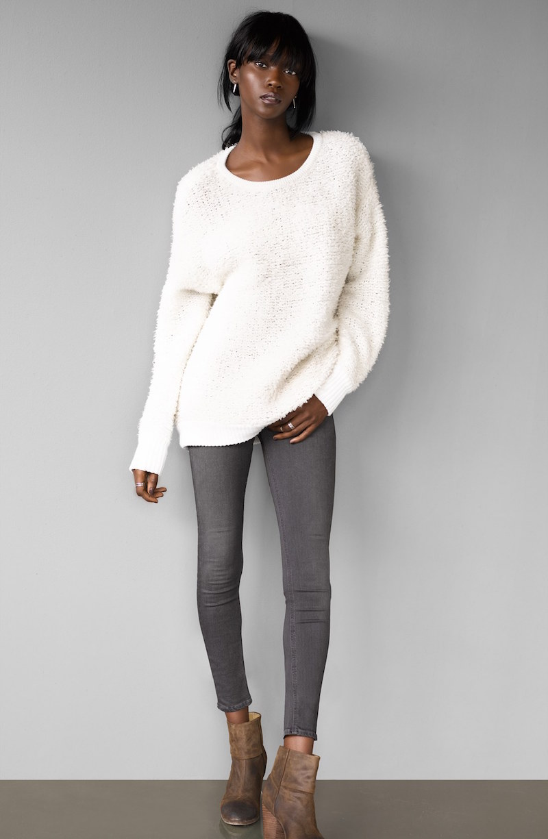 rag & bone/JEAN Corrine Slouchy Crewneck Sweater