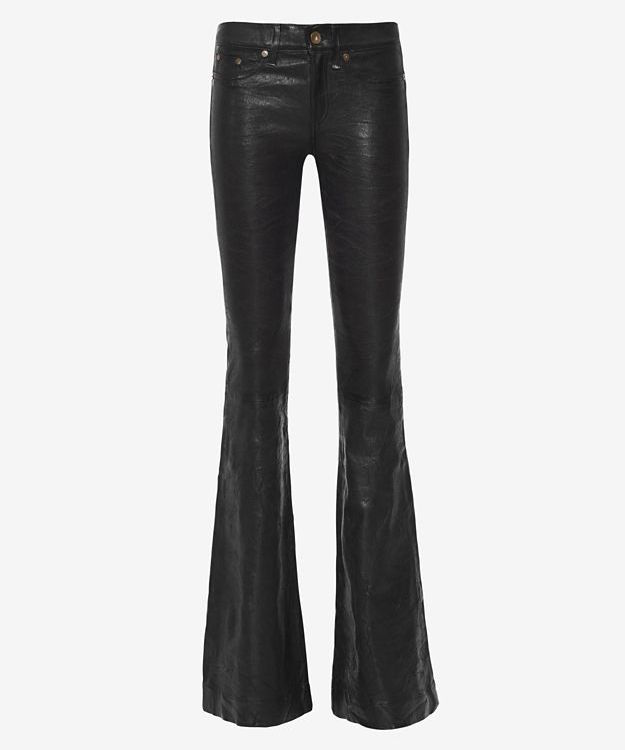 rag & bone/JEAN Leather Bell Pants