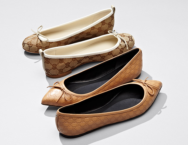 $246 & Up Gucci Flats at MYHABIT