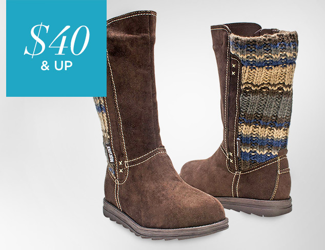 $40 & Up MUK LUKS at MYHABIT