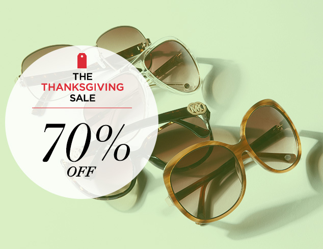 70 Off Sunglasses at MYHABIT
