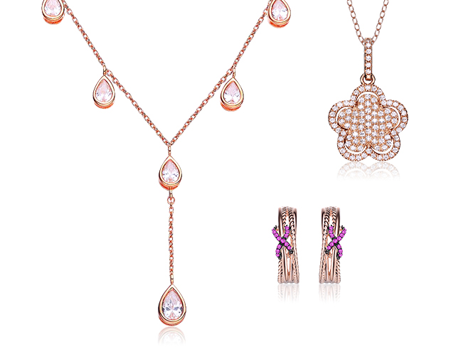 80 Off Megan Walford Rose Tone Jewelry at MYHABIT