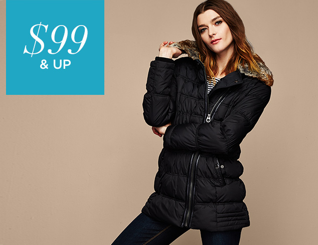 $99 & Up Cozy Outerwear at MYHABIT