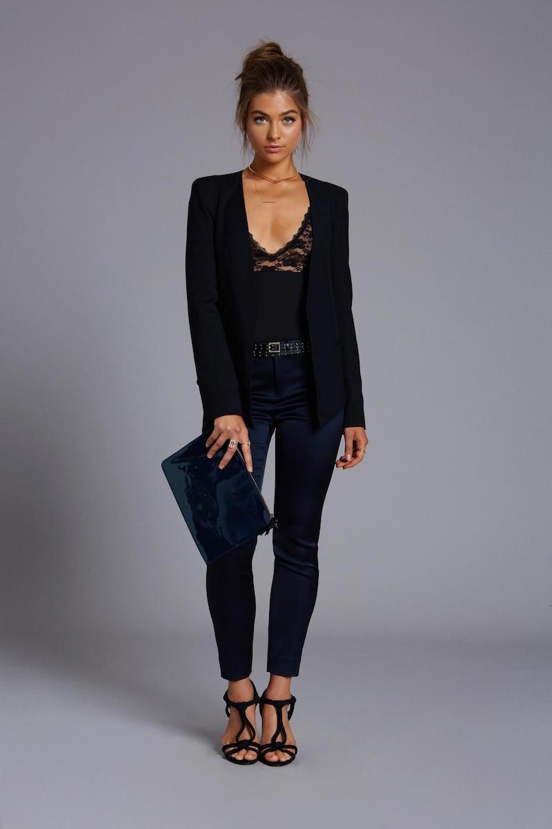 Anine Bing Lace Bodysuit