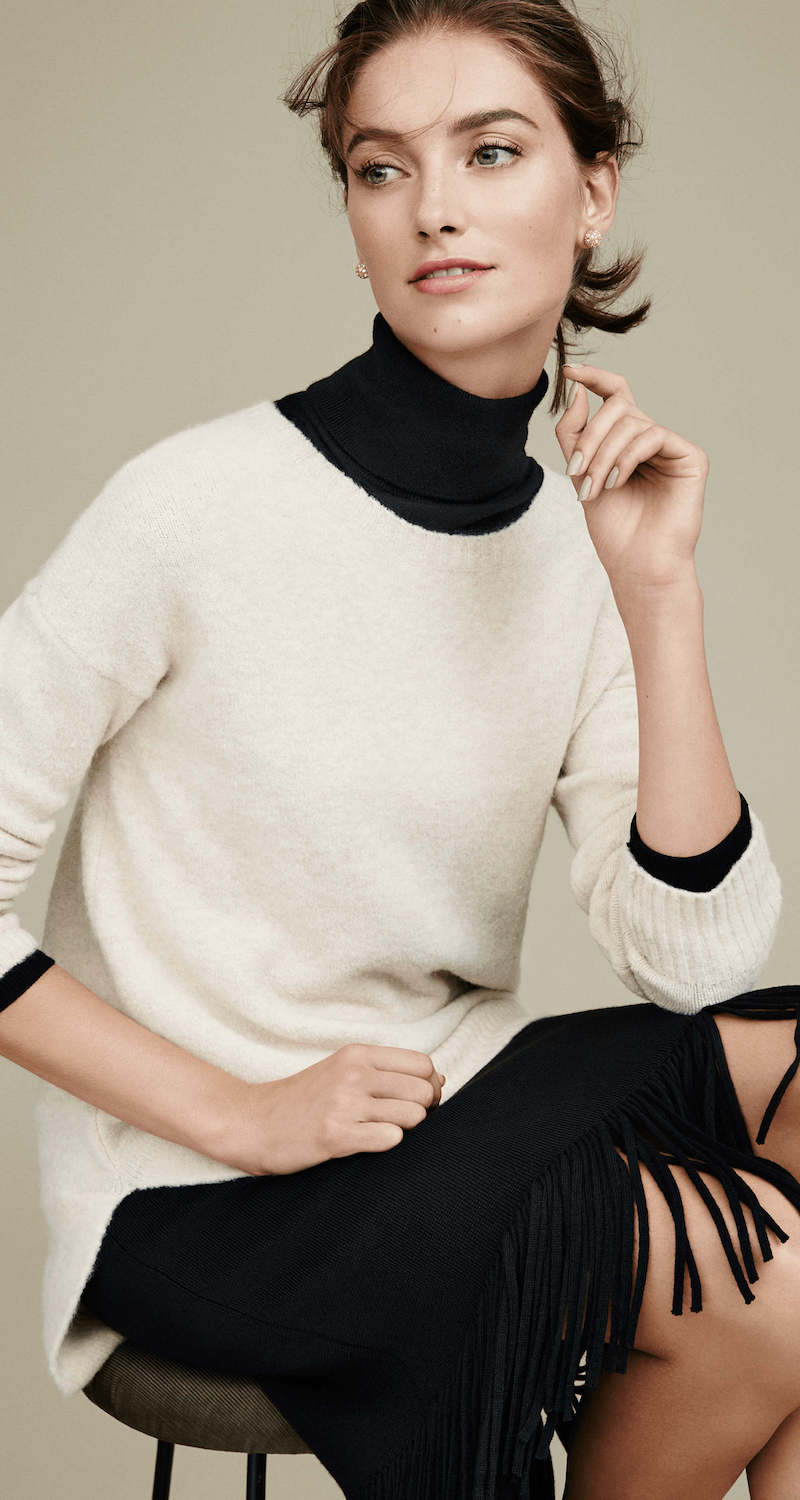 Ann Taylor Cozy Knit Sweater