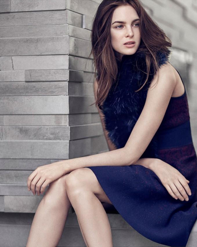 Ann Taylor Ombre Sleeveless Sweater Dress