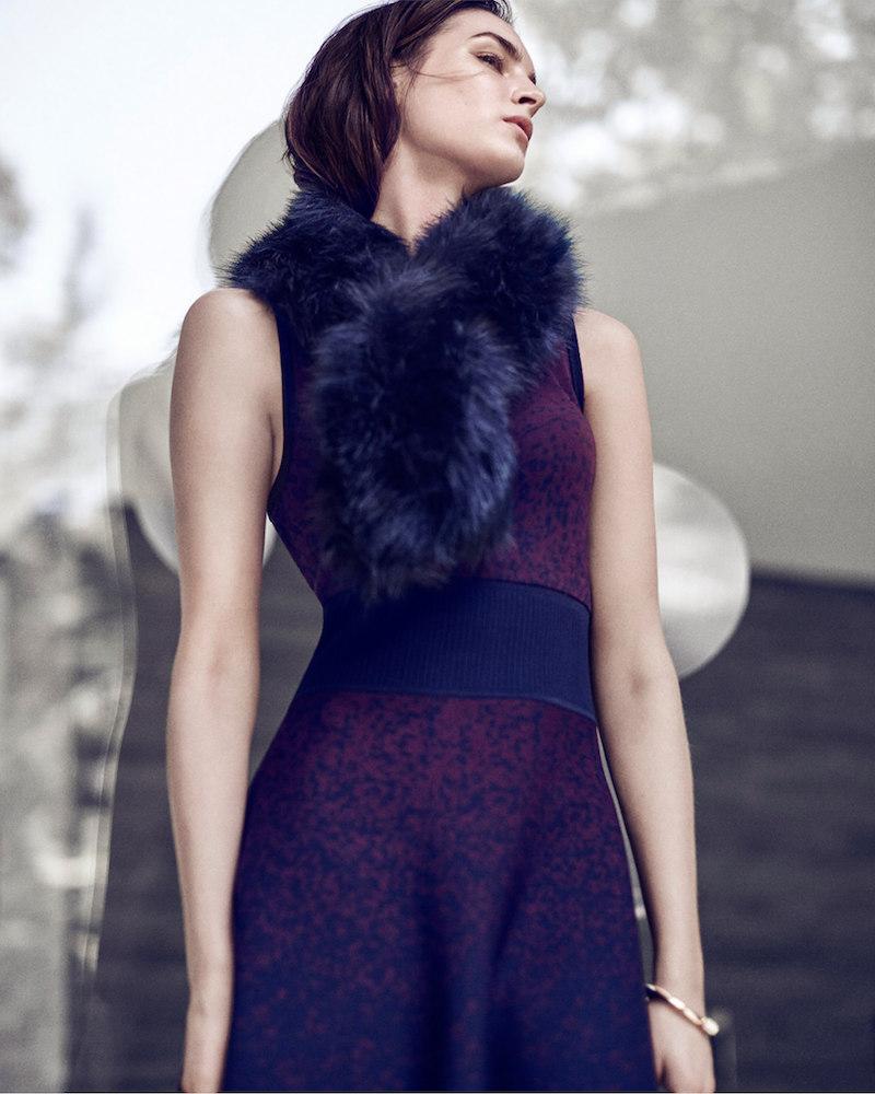 Ann Taylor Ombre Sleeveless Sweater Dress_1