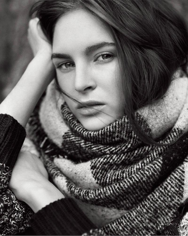 Ann Taylor Plaid Blanket-Scarf