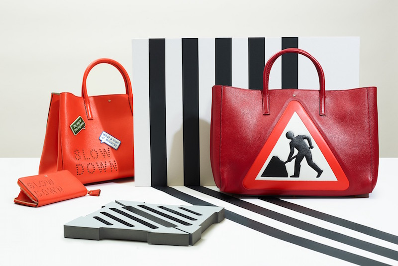 Anya Hindmarch Construction Site Maxi Featherweight Ebury Tote