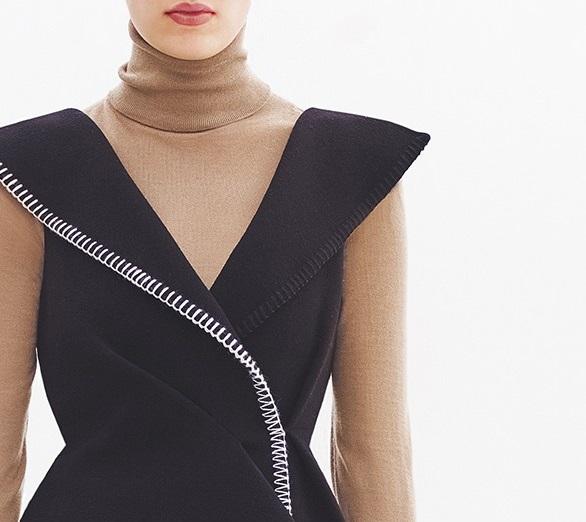 Balenciaga Lightweight cashmere roll-neck sweater