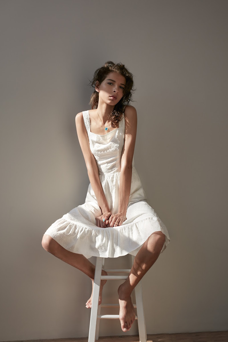Barneys New York XO Jennifer Meyer Apron Dress