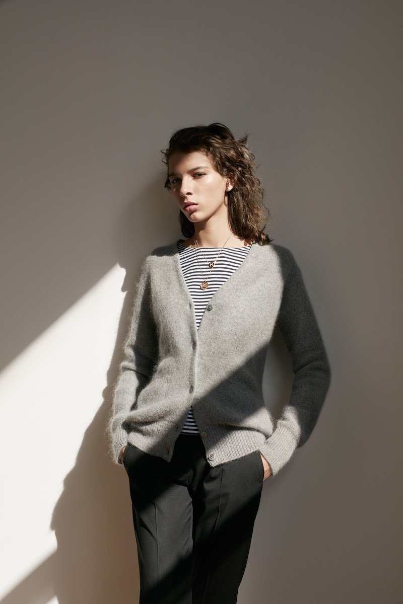 Barneys New York XO Jennifer Meyer Basic Cardigan