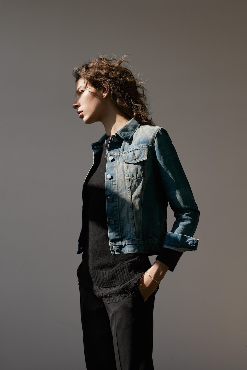 Barneys New York XO Jennifer Meyer Denim Jacket
