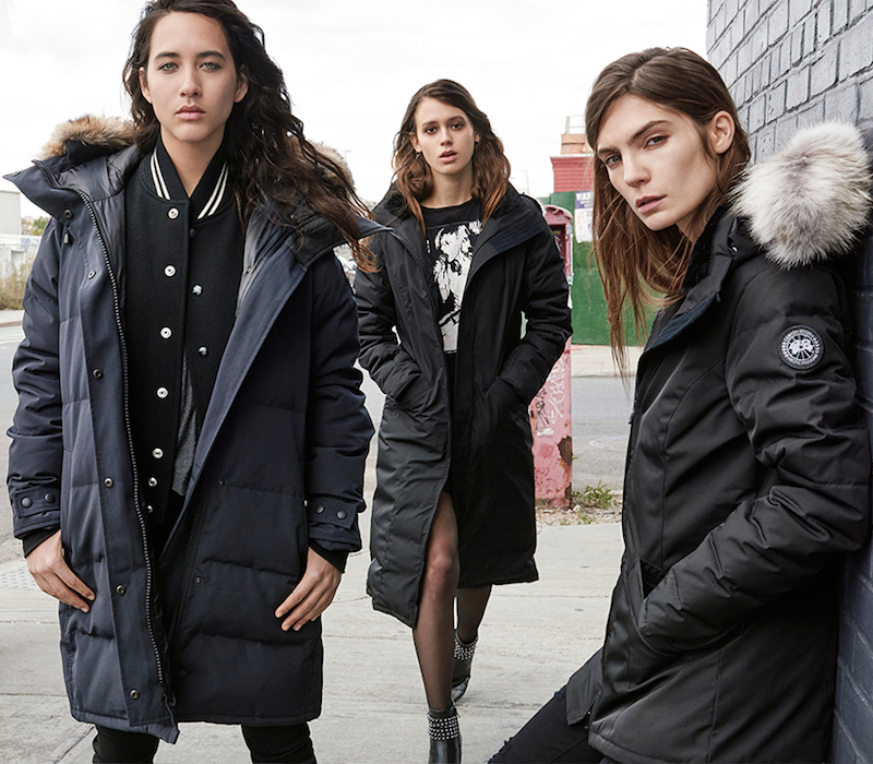 canada goose lookbook