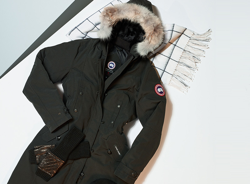 Canada Goose Victoria Fur Trim Parka