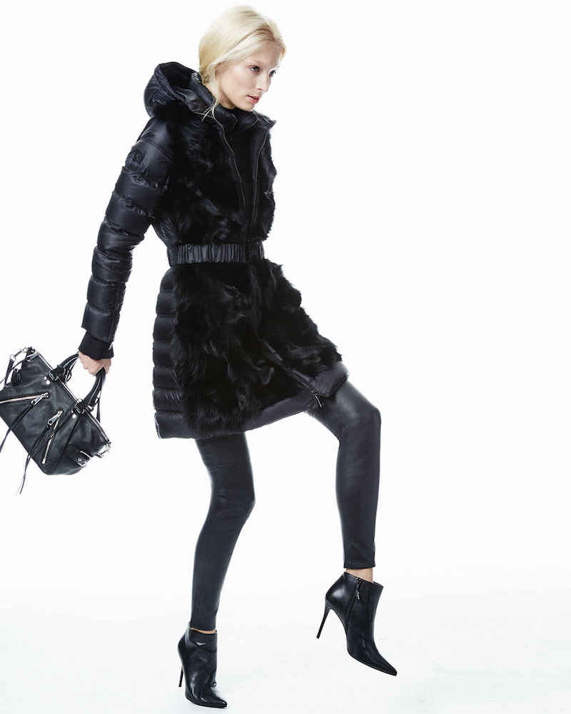 Dawn Levy Tallula Convertible Puffer Coat with Fur_1