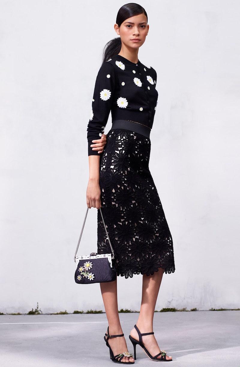 Dolce&Gabbana Macramé Lace Skirt