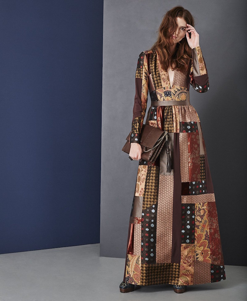 Etro Amy Lou Patchwork-jacquard Dress