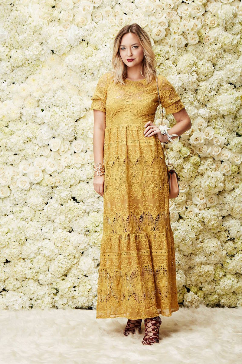 For Love & Lemons Siena Maxi Dress