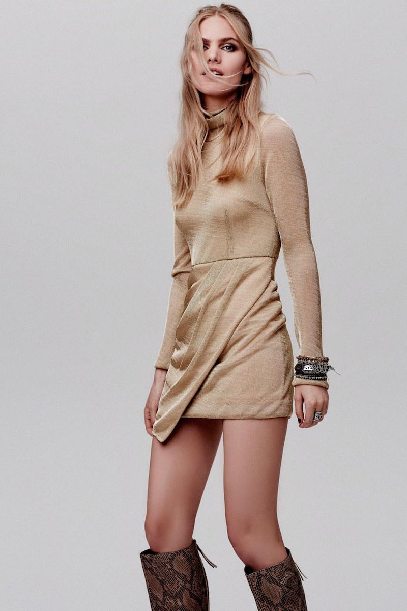 Free People Mercury Body-Con Dress
