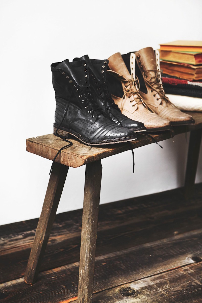 Free People Sounder Lace-Up Boot