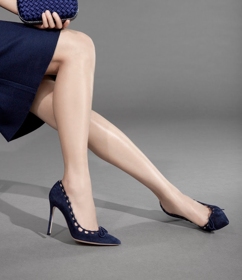 Gianvito Rossi Bow-Front Pumps