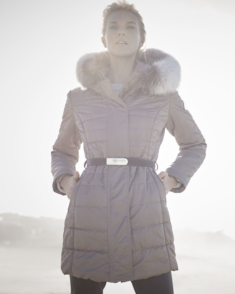Gorski Belted Puffer Coat-